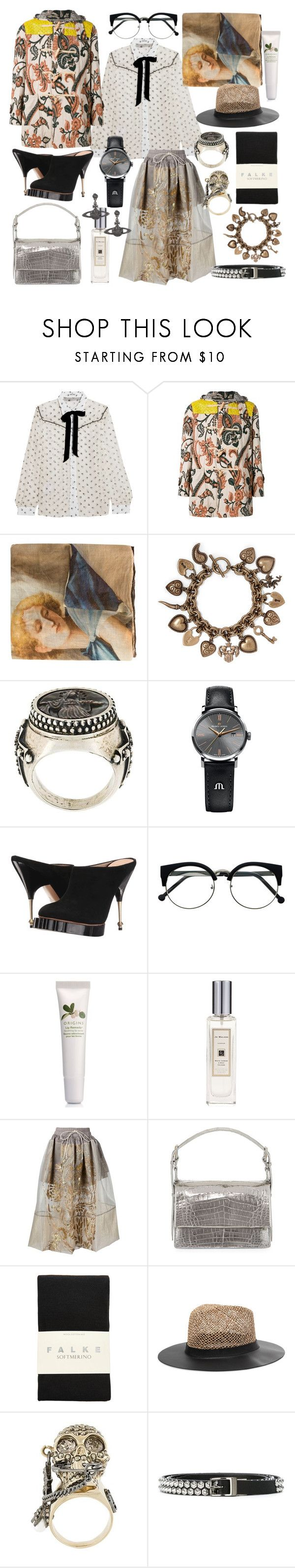 """""""the sun in my soul wants to see u"""" by nothingisnormal ❤ liked on Polyvore featuring Miu Miu, Vivienne Westwood Gold Label, 813 Ottotredici, Etro, Jean-Paul Gaultier, Maurice Lacroix, Vivienne Westwood, Origins, Jo Malone and Nancy Gonzalez"""