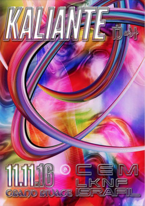 Kaliante - Grand Rivage, Emilie Genovese 2016