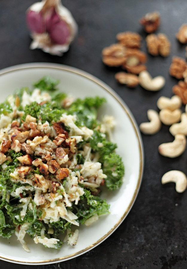Kale Waldorf Salad | These 26 Recipes Will Make You Fall In Love With Kale