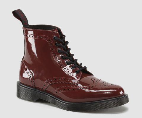 Dr Martens Affleck Oxblood Red Boot //