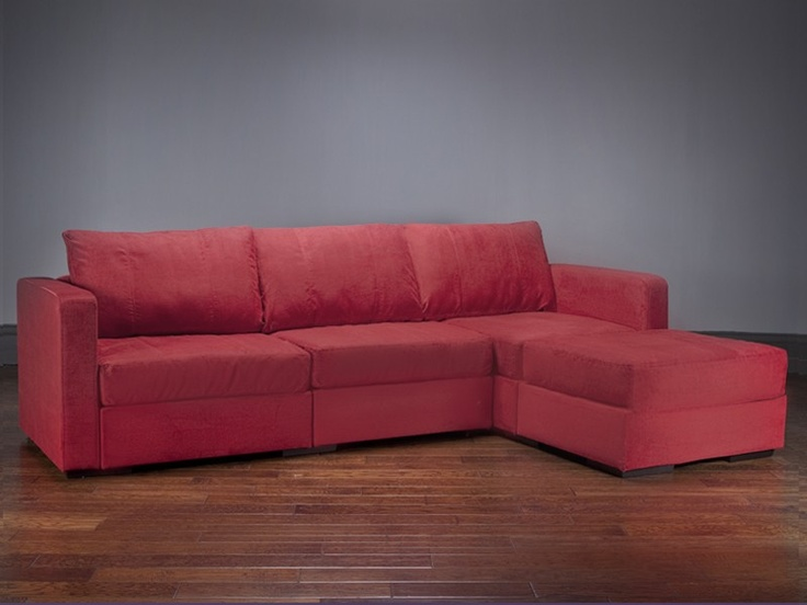 Red Lovesac Couch
