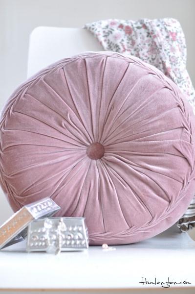 mooi roze cushion