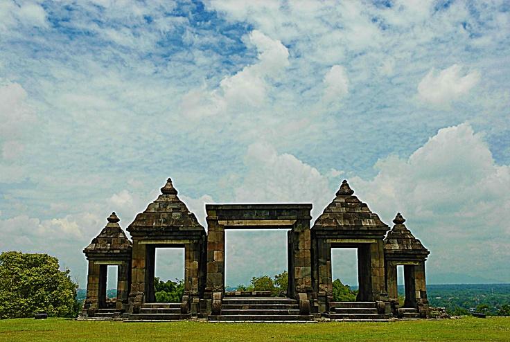 HDR Surya Rahadi's Pic | Candi Ratu Boko | Jogjakarta | Indonesia