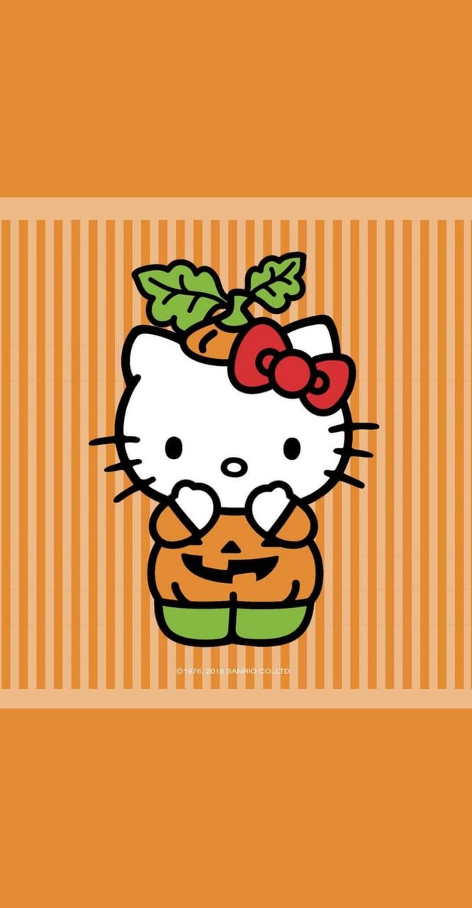 Image Uploaded By Glen Find Images And Videos About Cute Wallpaper And Hello Kitty Halloween Wallpaper Hello Kitty Backgrounds Hello Kitty Pictures