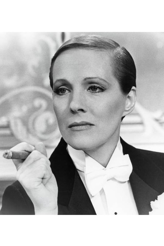 Her most AWESOME role...  Victor Victoria http://www.vogue.fr/mode/inspirations/diaporama/belles-en-smoking/4685/image/374632#julie-andrews-dans-victor-victoria-de-blake-edwards