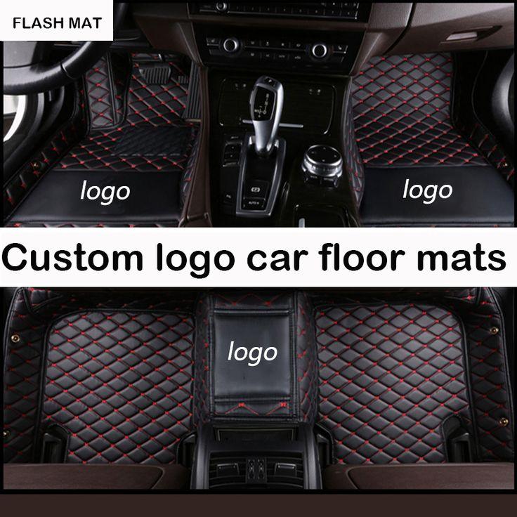 Custom LOGO car floor mats for Jaguar All Models Jaguar XF