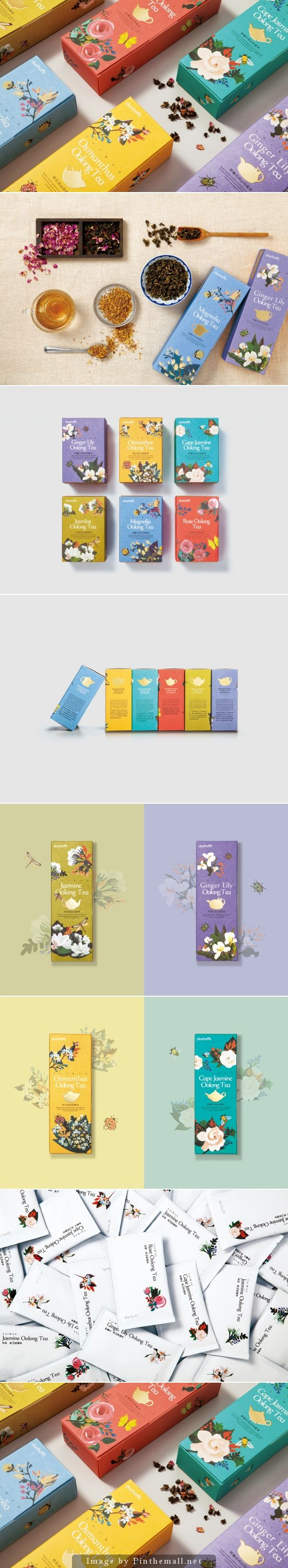 Gorgeous Daebeté Scented Tea #packaging created by Victor Design curated by Packaging Diva PD top #2014 pin
