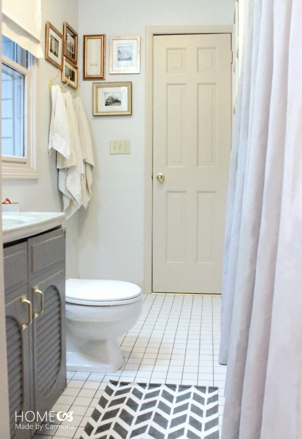 Bathroom Before-and-After - Budget Bathroom Makeover - Good Housekeeping