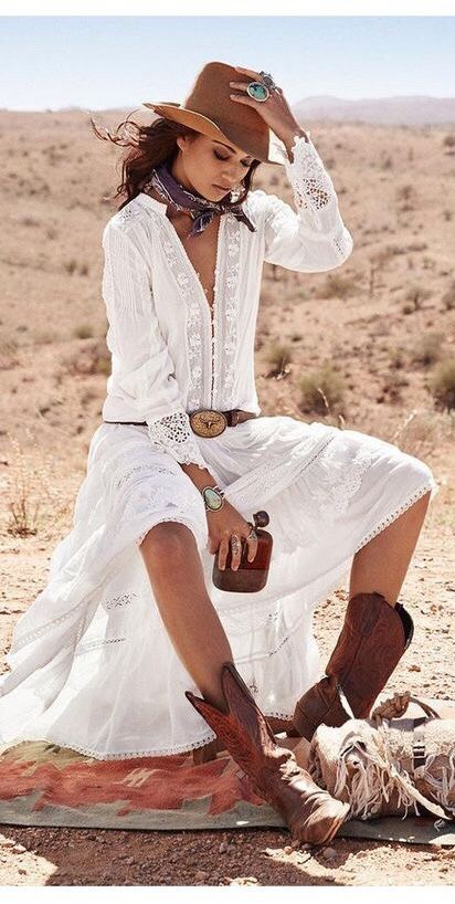 8112253e6235f CLOVER BACKLESS MAXI BOHO BEACH DRESS in WHITE in 2019 | Ralph lauren |  Bohemian blouses, Boho fashion, Boho outfits