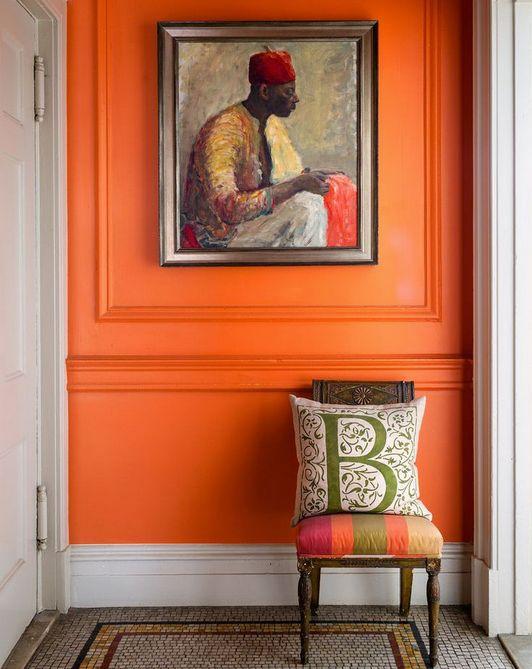 paint color tangerine