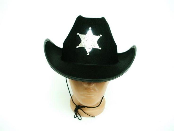 Шляпа шерифа желтая