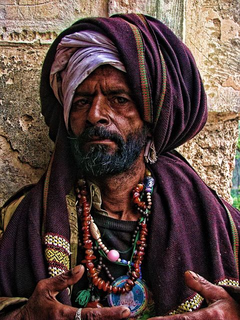 bohemian sufi:    Street Portrait by smrafiq on Flickr.