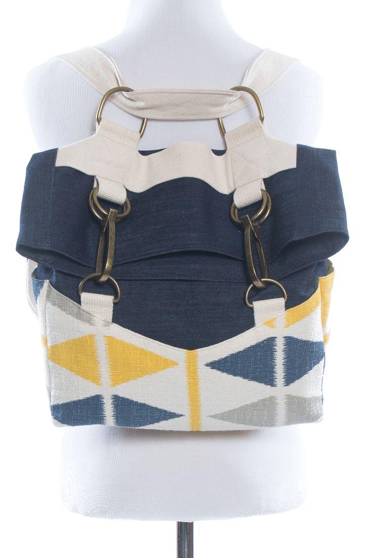 Indiesew.com | Retro Rucksack sewing pattern by Radiant Home Studio - $9.50