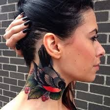 Neck Tattoos Gallery - MyTattooLand