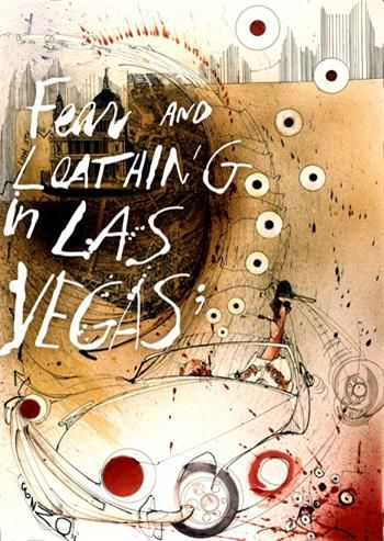 Fear and Loathing in Las Vegas by The Heritage Arts Company and Lou Stein Associates at The Vaults, Waterloo from 28th January to 8th March 2014. https://www.thevaultfestival.com/fear-and-loathing/
