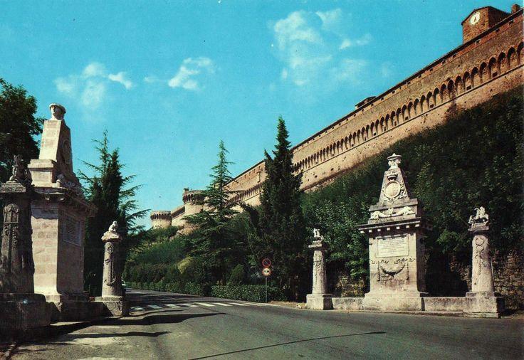 Volterra (Siena) Rocca Medicea Cartolina non viaggiata