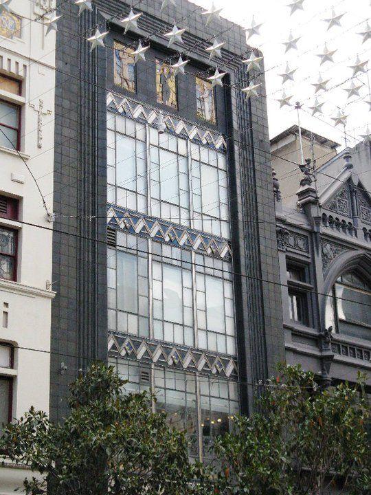 Art Deco architecture - Buckley & Nunn building, Bourke Street