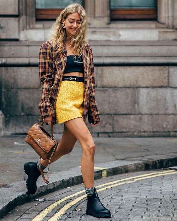 These Yellow Pieces Will Take You to Your Happy Place | Street fashion photos, Fashion, Street style