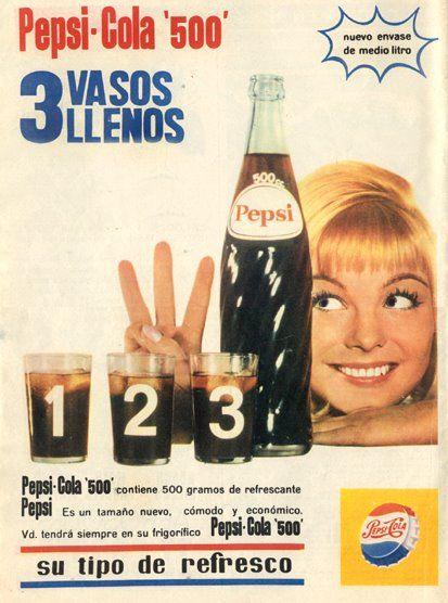 Pepsi 1965 ... en alguna revista.