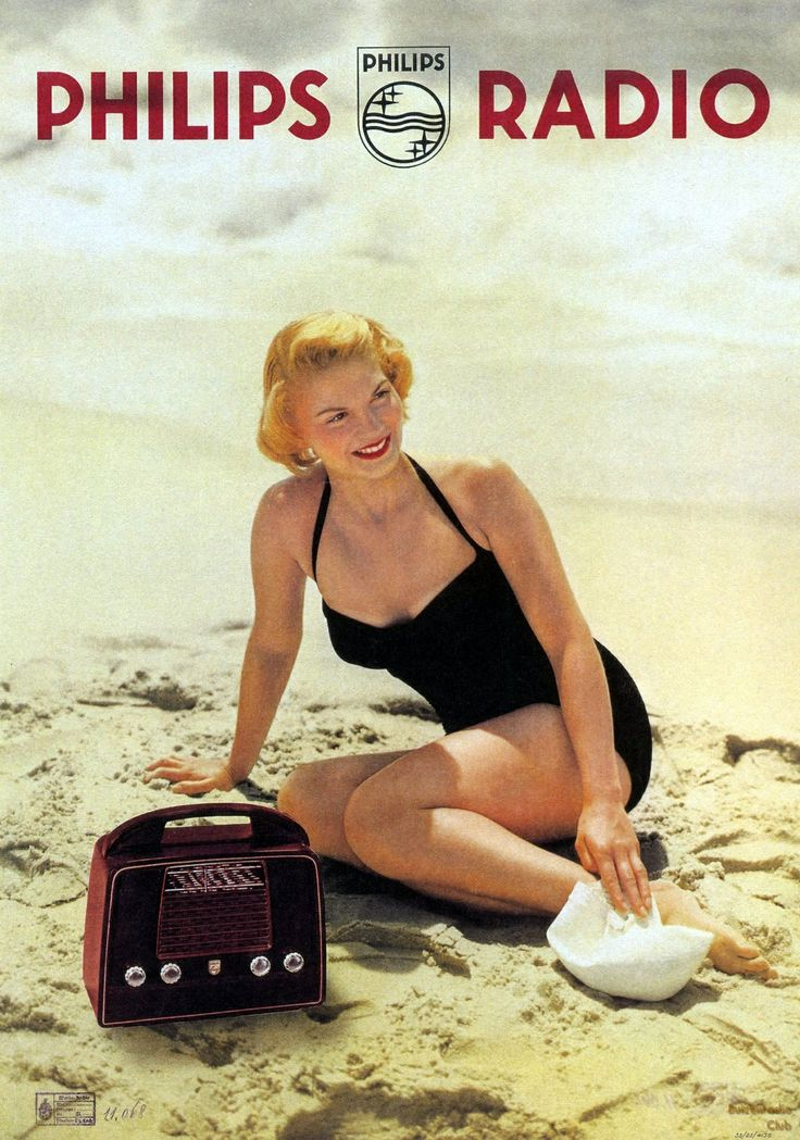 Philips radio catalog cover 1960's