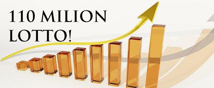 110 mln Lotto jackpot