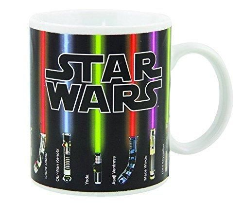 Star Wars Lightsaber Mug The Force Awakens With Heat (12 oz)