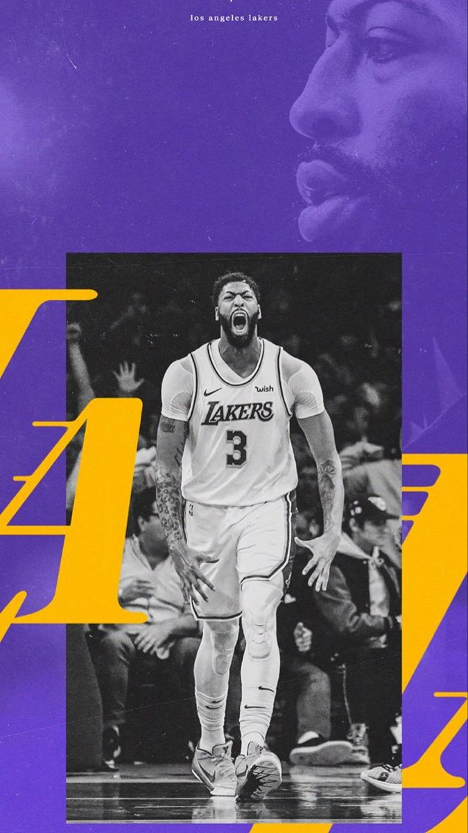 Pin By James Crawford On Curvy Anthony Davis Lakers Wallpaper
