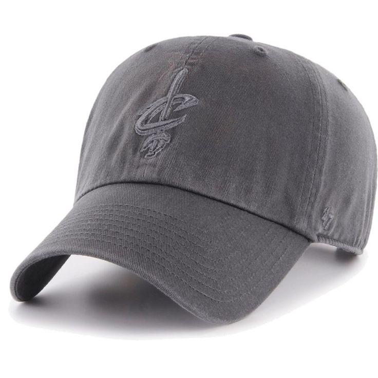 '47 Men's Cleveland Cavaliers Grey Clean Up Adjustable Hat, Team