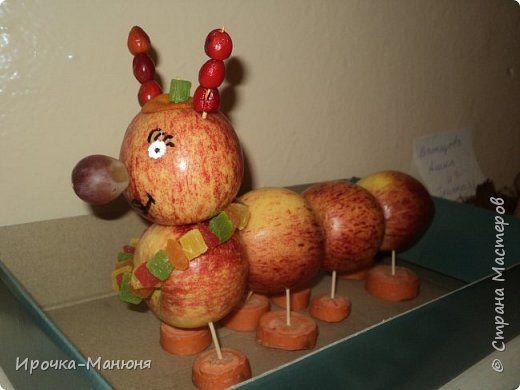 Фоторепортаж Праздник осени Здравствуй Осень Выставка поделок из овощей  фото 42