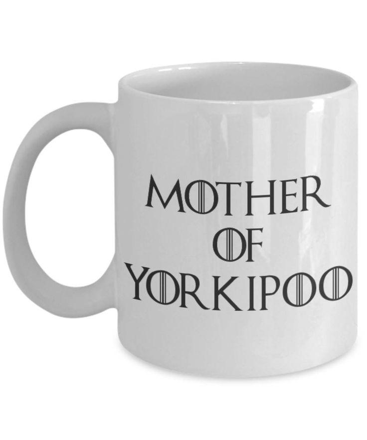 Yorkipoo Mug - Yorkipoo Gifts - Funny Yorkipoo Coffee Mug - Mother Of Yorkipoo - Mother Of Dragons by AmendableMugs on Etsy