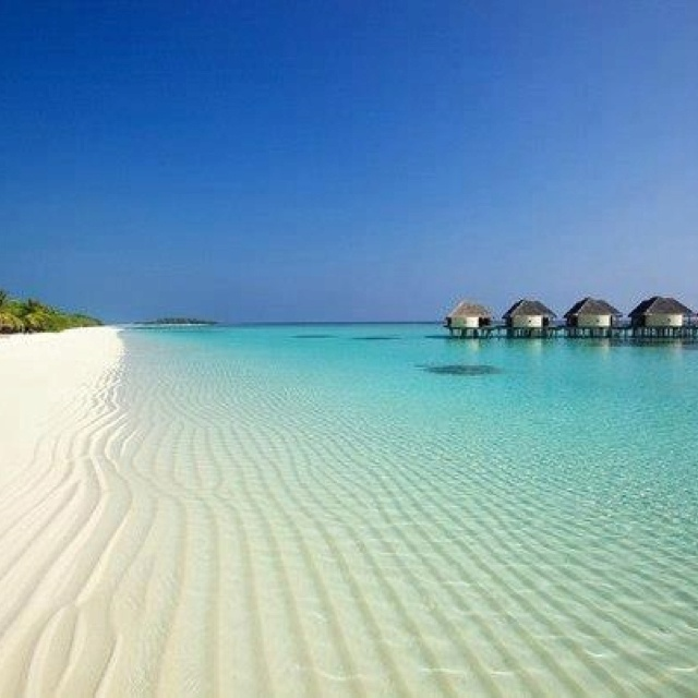 Maledives - look at that beach and sand!