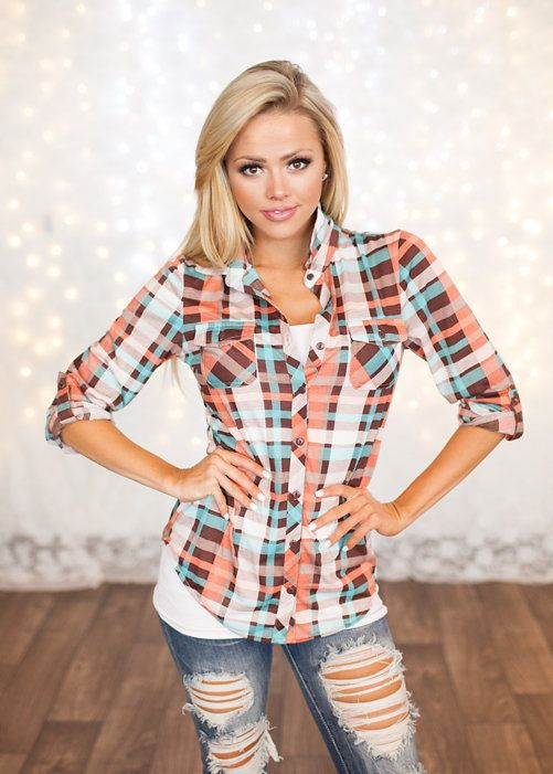 25 best ideas about country girl style on pinterest for Girl in flannel shirt