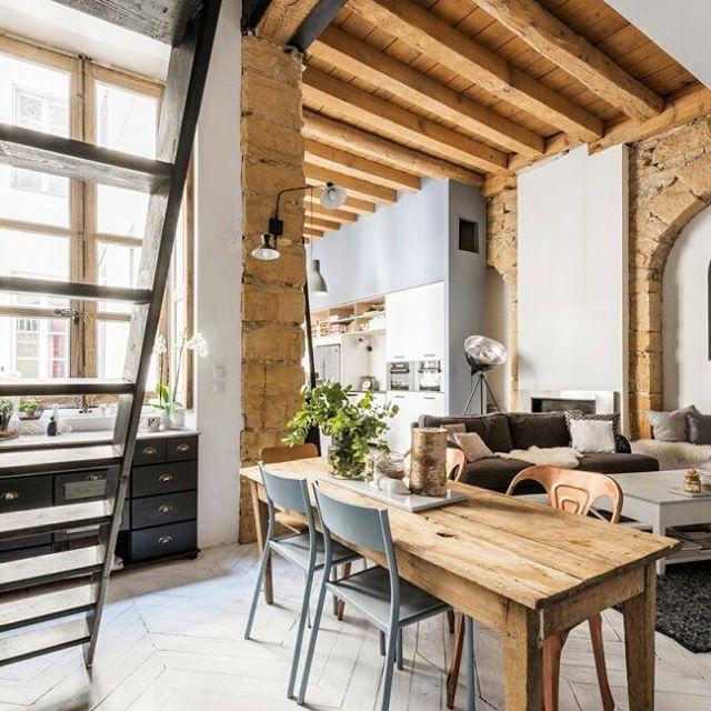 17 mejores ideas sobre vigas de madera de techo en for Ideas para techos de madera