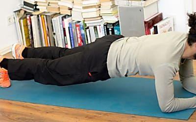 Planken: Kleine Übung, große Wirkung!