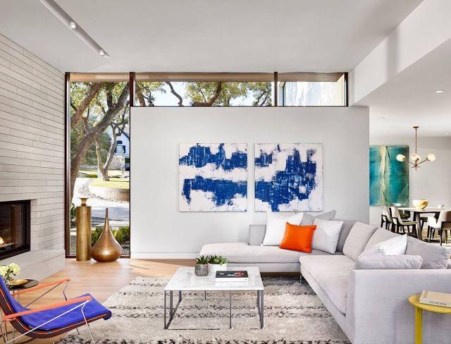 Design Hub - блог о дизайне интерьера и архитектуре: Двухэтажный особняк в Остин, Техас