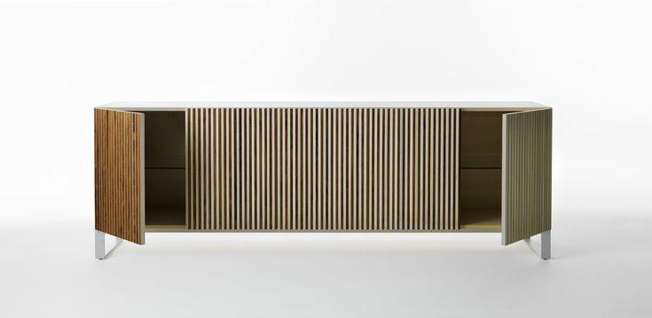 Credenza Leon di  Horm, righe, stripes