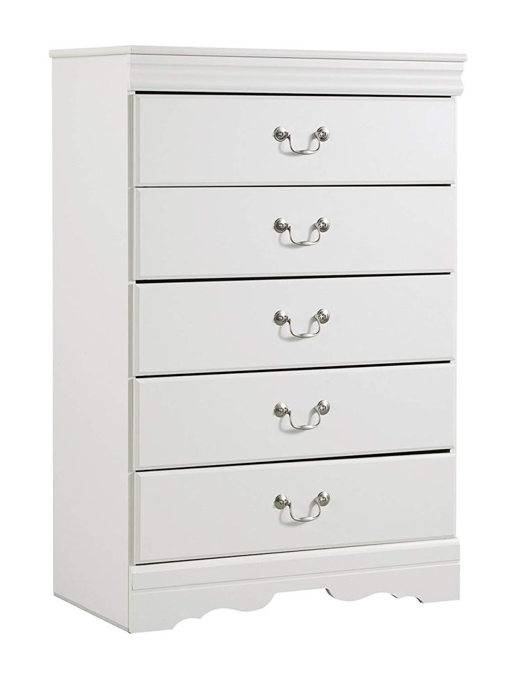 Best Ashley Anarasia Five Drawer Chest In White Thanks For Visiting Our Picture … With Images 400 x 300