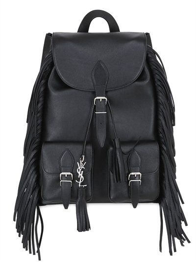 SAINT LAURENT FESTIVAL LEATHER BACKPACK