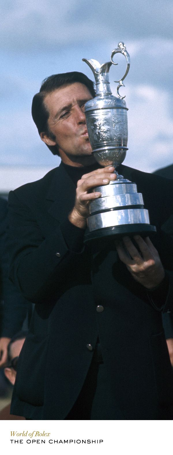 Gary Player at The Open Championship in 1974. #Rolex #RolexOfficial