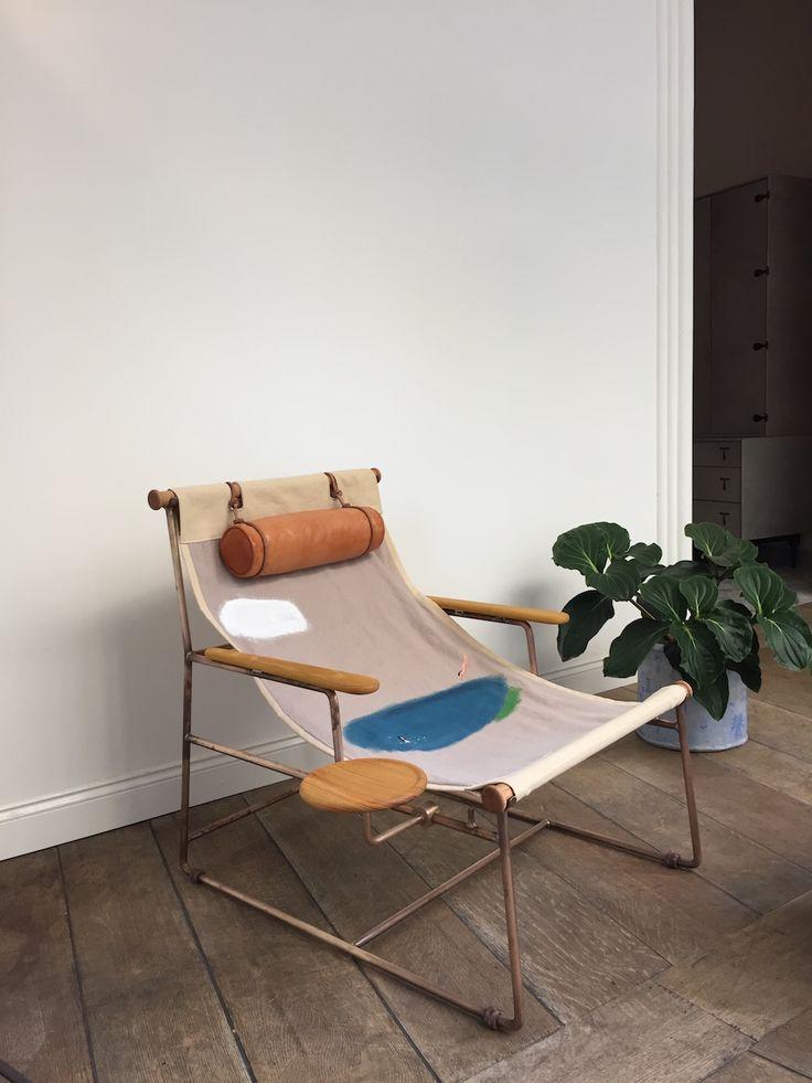 La Deck Chair Par Bddw En 2019 Desert House Deck