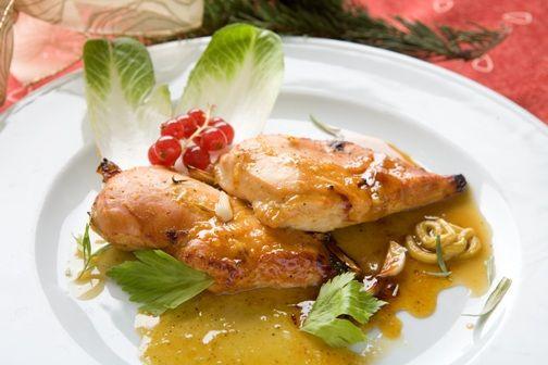 Рецепта за готвене на Пилешки гърди, мариновани с мед, лимон и горчица - продукти, начин на приготвяне. Как да сготвим Пилешки гърди, мариновани с мед, лимон и горчица - изпробвана рецепта за вкусни резултати!