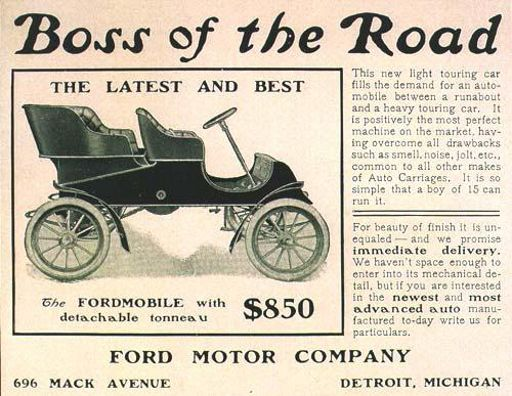 Ford Motor Company Was Incorporated In 1903 This 1905