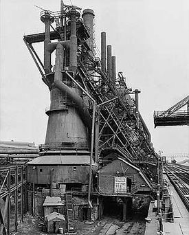 Bernd and Hilla Becher, blast furnace