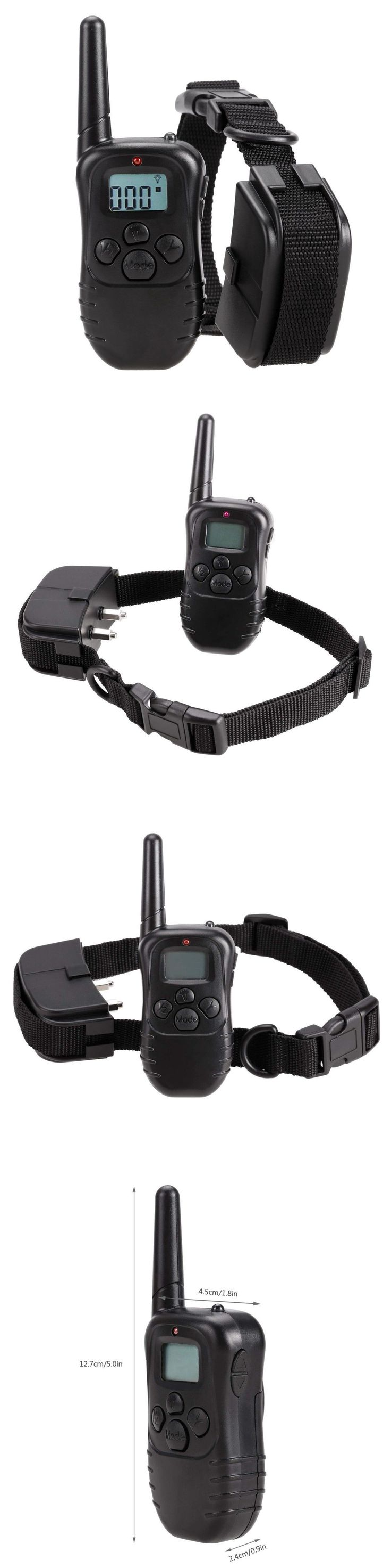 Animals Dog: 4 Modes Remote Control Collar Dog For Dogs Training Shock Petsafe Small Large -> BUY IT NOW ONLY: $38.48 on eBay!