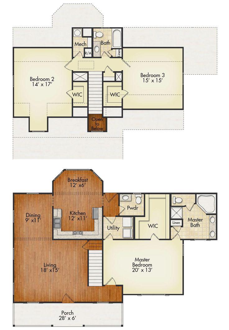 341 best Floor Plans images on Pinterest | House floor plans ...