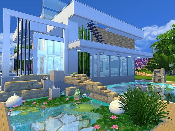 Sims House S Modern Eco House Sims House Sims House Design Eco House