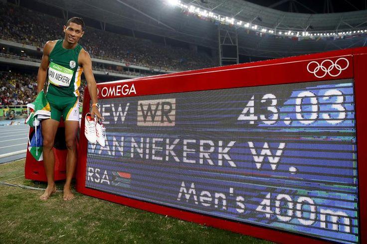 Wayde van Niekerk #Rio2016