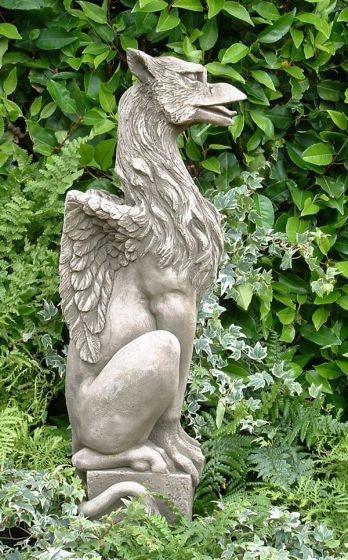 Gryphon statue