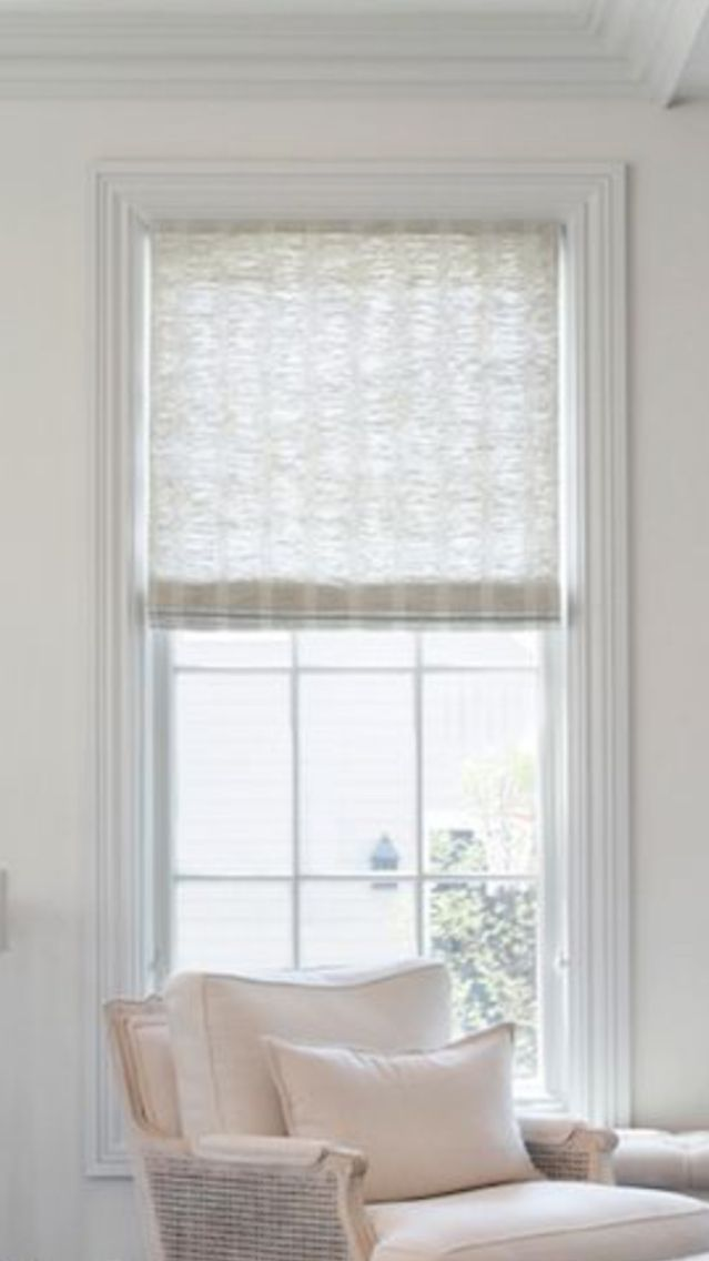 Blinds Emporium Of Ga Bamboo Roman Shade And Roller Privacy Liner