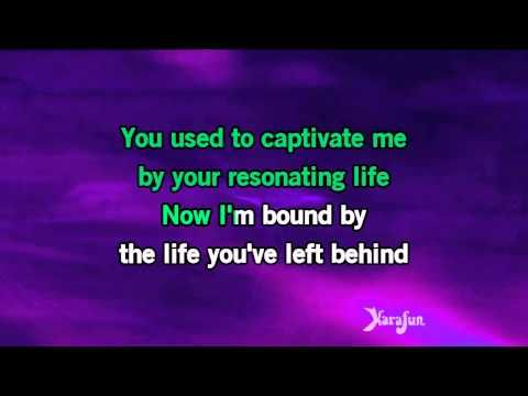 Karaoke My Immortal - Evanescence * - YouTube